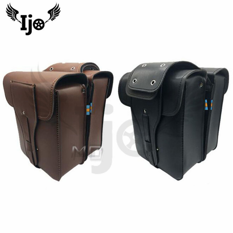 maletero moto saddlebag for Vespa benelli harley softail mochila moto helmet bag alforjas para moto saddle bag motorcycle bag