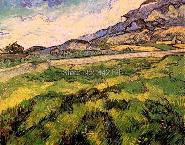 ᑎ‰Pintura al óleo de Van Gogh arte de la pared de la lona regalo ...