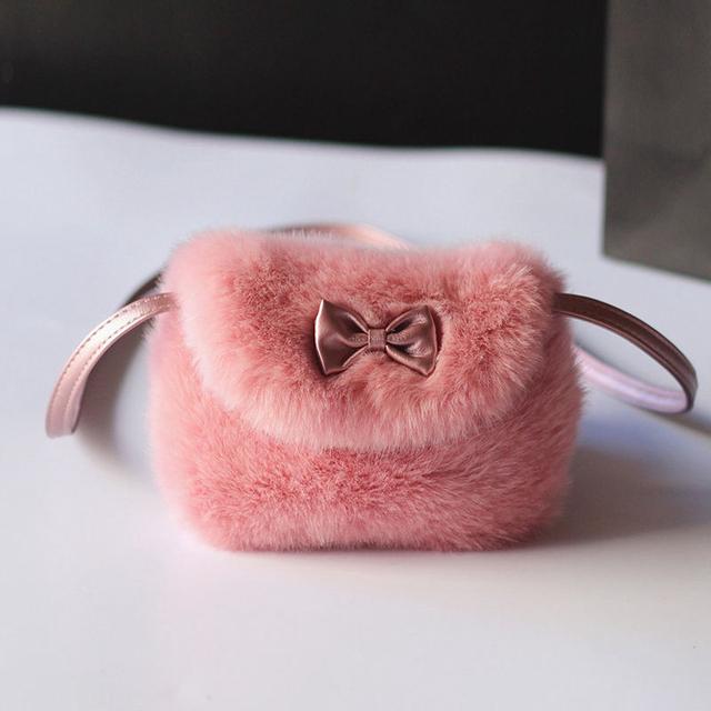Mini Artificial Fur Handbags