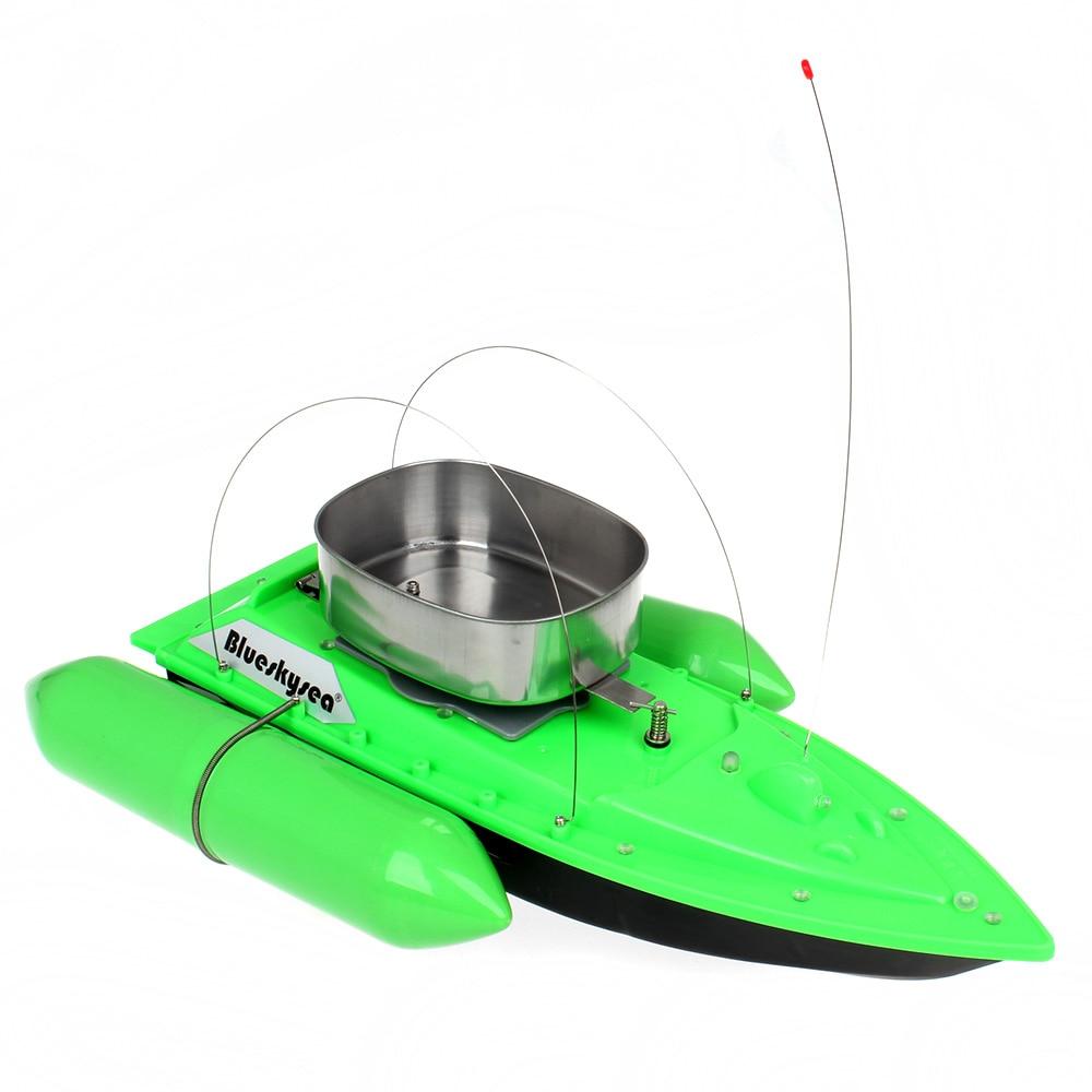 Blueskysea Yenilənib T10 Mini RC Bait Boat Carp Balıqçılıq - Uzaqdan idarə olunan oyuncaqlar - Fotoqrafiya 4