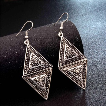 Fashion Metal Dangle Earrings Earrings Jewelry Women Jewelry Metal Color: GA728