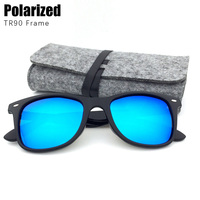 BASIC FOR SUMMER Classic Polarized Sunglasses Men Women Fashion Brand Sun Glasses With Pouch TR90 Frame
