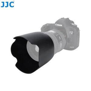 Image 4 - JJC LH 83F черный Бленды для объективов Тенты для Canon EF 24 70 мм f/2.8L USM бленда Заменяет Canon EW 83F