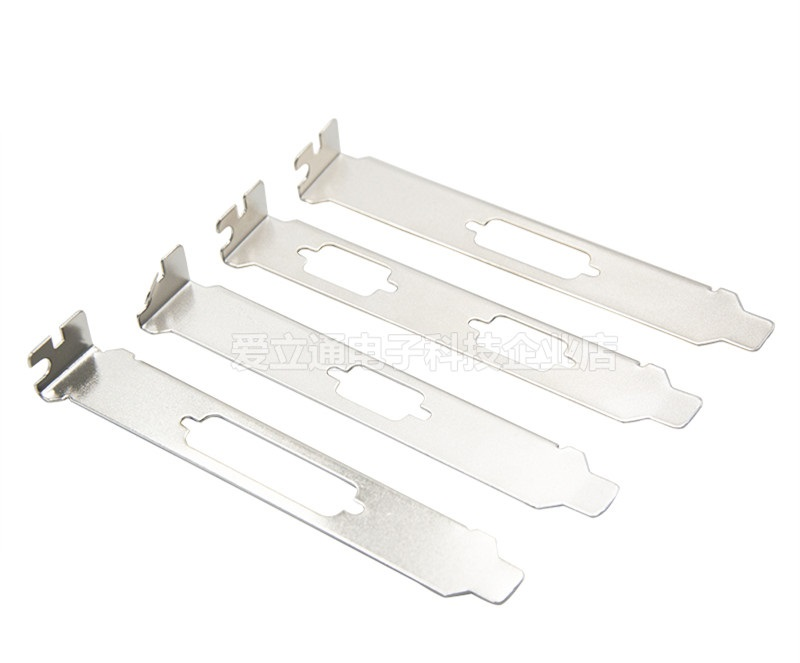 Computer Case Expansion Slot DB9 Bracket Lot of 5