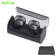 QCY Q29 wireless separation of two earphones business bluetooth V4.1 earbuds stereo headset with MIC and QCY storage pouch