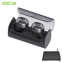 QCY Q29 sans fil séparation de deux écouteurs bluetooth d'affaires V4.1 écouteurs stéréo casque avec MICRO et QCY pochette de rangement