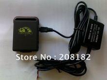 Garantizado 100% 4 band tracker gps TK102 cableados cargador de batería para coche vínculo google envío gratis