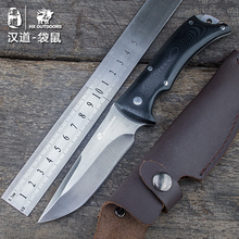HX OUTDOORS camping knife built-in knife design saber tactical fixed knife hunting survival hands tools cold steel knife