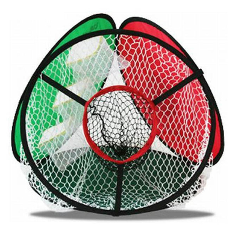 Golf practice nets Portable Pop up Golf Chipping Pitching Practice Net Training Aid Storage Easy Foldable with Carry Bag simulation mini golf course display toy set with golf club ball flag
