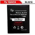 Fly IQ4414 BL3216 Bateria 2000 mah QI 4414 Acumulador de alta qualidade