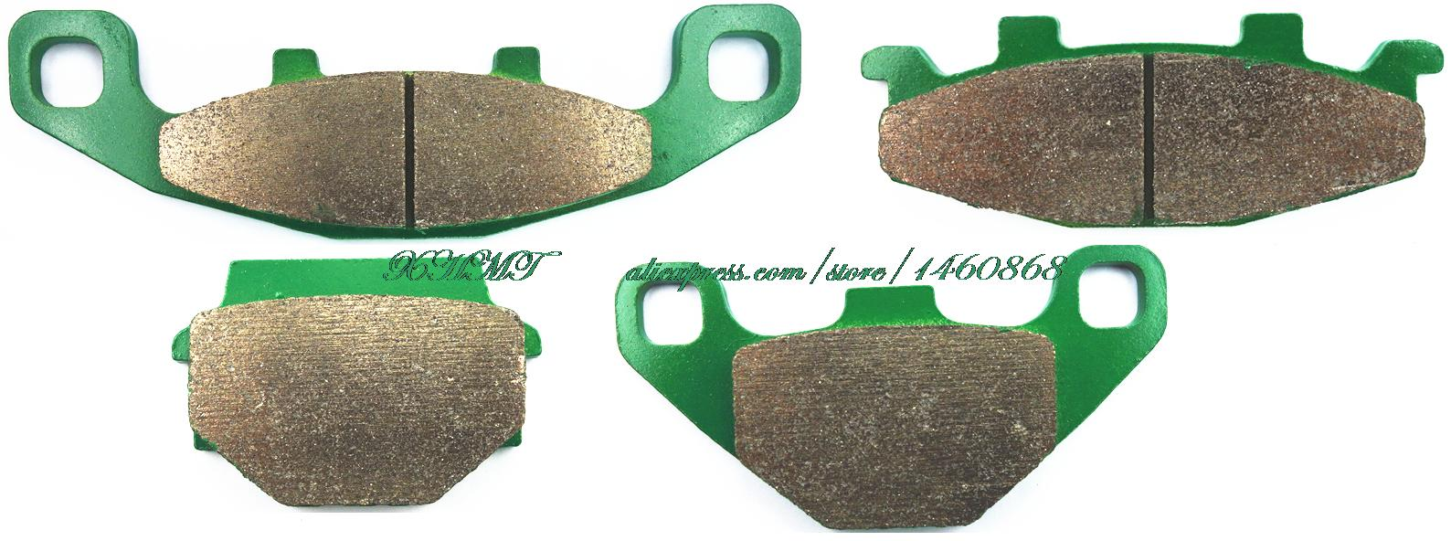 Brake Shoe Pads Set for KAWASAKI KLE400 KLE500 KLE 500 400 1991 & up/ KLE600 KLE 600 1992 & up/ EX250 EX 250 H1 - H2 1990 & up wagner thermoquiet pab246r riveted brake shoe set front
