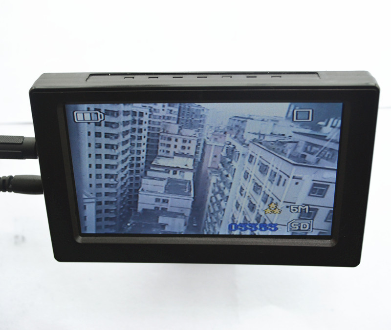 4.3 Inch Take Photo and Video TFT Monitor For AV Input Camera Support 32G TF Card