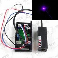 Blau Violett 405nm 10 mW Laser Lazer Diode Modul mit TTL Bühnenbeleuchtung Show Blu Ray