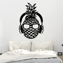 Diy Pineapple Wall Sticker Pvc Removable For Living Room Bedroom Art Decal Decorative Vinyl Stickers