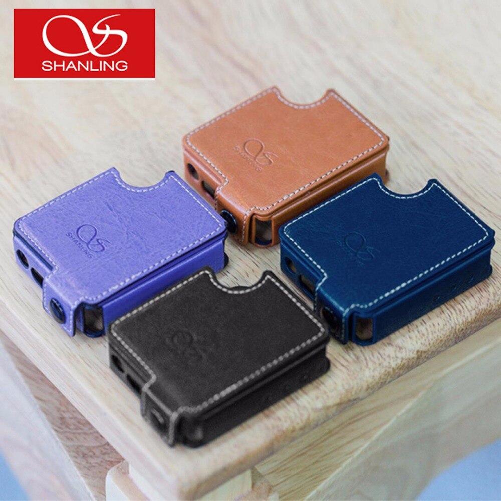 Shanling M1 Étui En Cuir Portable Bluetooth Mini DAP DSD Sans Perte Lecteur de Musique HIFI MP3 Cas