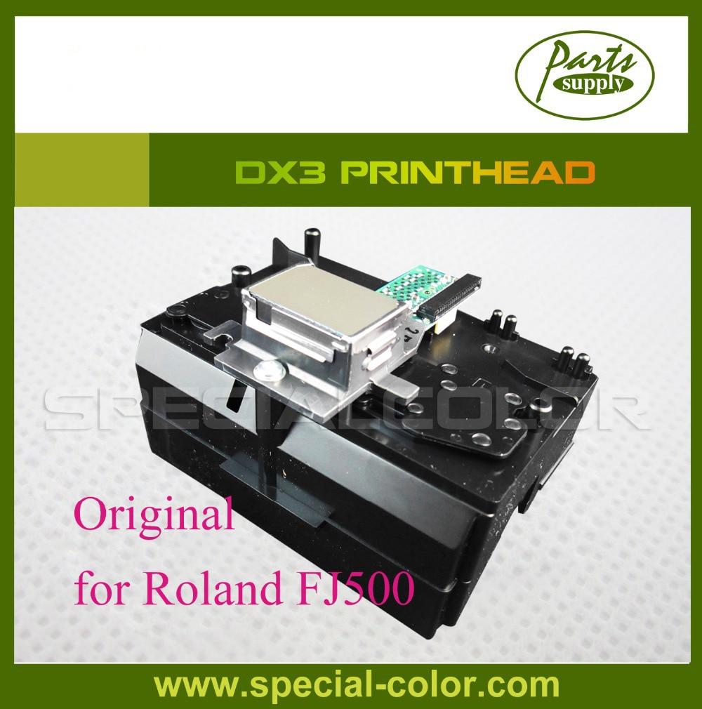все цены на 100% DX3 Original Print Head FJ600 Printhead For Roland FJ500 Large Format Printer онлайн