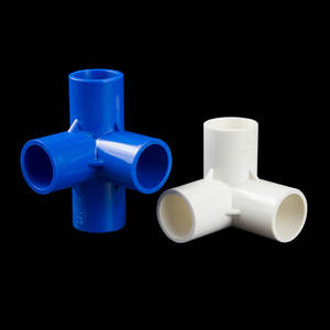 1PC PVC  Pipe Fittings Home Garden Irrigation Water Connectors DIY Tool