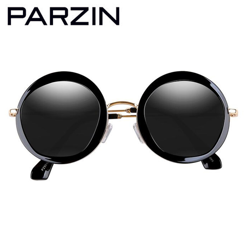 PARZIN Vintage Putaran Sunglasses Wanita Retro Polarized Sunglasses - Aksesori pakaian - Foto 2