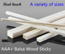 300mm długi 2x 2 3x 3 4x 4 5x 5 6x 6 7x 7 8x 8 9x9mm kwadratowych długie drewniane bar AAA + Balsa patyczki drewniane paski do samolotu model łodzi DIY tanie tanio Real hawk Drewna Cięcia skeleton material 300mm long 2x2 3x3 4x4 5x5 6x6 7x7 8x8 9x9mm Pojazdów i zabawki zdalnie sterowane