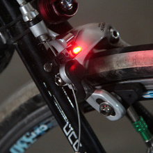 Mini Brake Bike Light Mount Tail Rear Bicycle Cycling LED High Brightness Waterproof Lamp Accessories