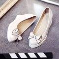 Новая коллекция весна мода обувь на высоком каблуке клин цветок милая леди обувь белый розовый девушки большие ярдов обувь 40-43 обувь женщина горячая