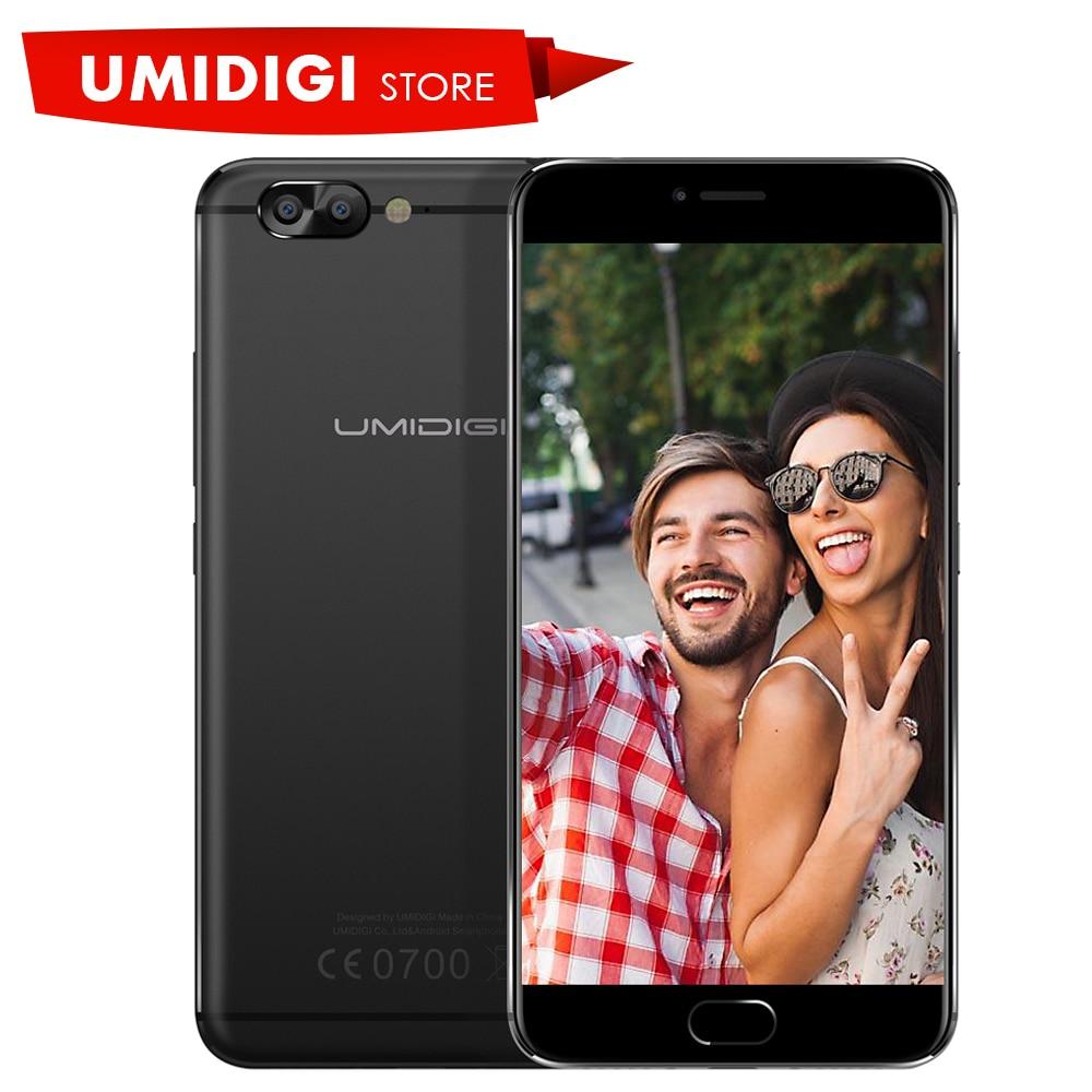New Umidigi Z Pro 4G LTE Smartphone MTK Helio X27 Deca-core 2.6Ghz Dual Rear Camera 5.5 inch Metal Black Mobile Phone
