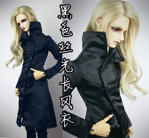 где купить  1/3 SD17 uncle  BJD SD Doll accessories Bjd clothes  black  coat  дешево