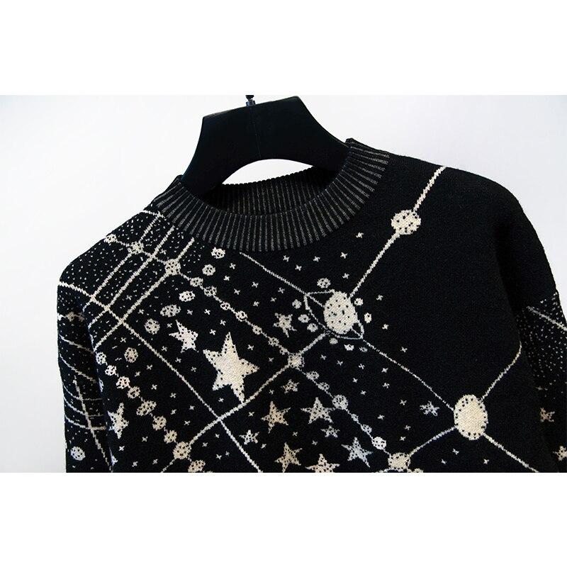 Pull Survêtement En Pièce Costumes Top Vêtements Vintage Tricot Hiver Femmes Designer Black 2 Pantalon Set ZwgqtwY