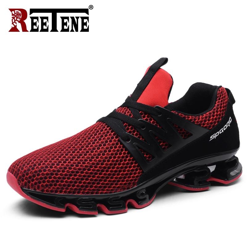 REETENE Runing Shoes Men Couple Love