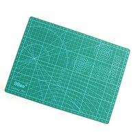 ПВХ Прямоугольник бумагорез режущий коврик инструмент A4 ремесло темно-зеленый 30 см * 22 см