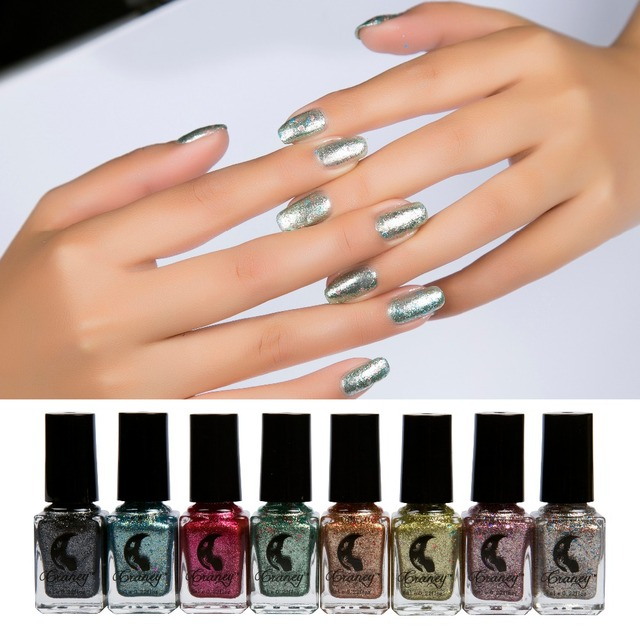 Aliexpress.com : Buy 6 ml NEW STYLE FLASH SERIES Metallic Nail ...