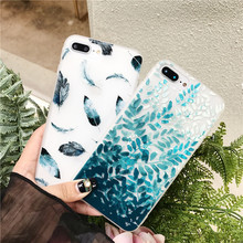 Fashion Cute Animal Flower Pattern Solf TPU Silicone Cover Phone Case For iPhone 6 6S 7 8 Plus X Flamingo Pink Candy Case Funda