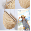 17X13CM mini size Specials lovely  rural style straw bag small cute girl kids' coin bag Messenger bag woven beach bag