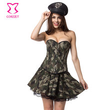 new carnival games party military uniform camouflage army costume halloween women plus size fancy dress sexy costumes for adults - Halloween Army Costume