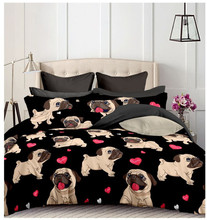 JaneYU New Arrival Duvet Cover Sets Quality Polyester / Cotton Animal Printed Home Decoartion