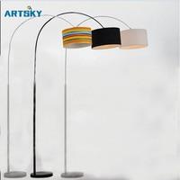 Modern Creative Remote Control Floor Lamp Floor Lamp Living Room Bedroom Simple Nordic Study LDE Dimming
