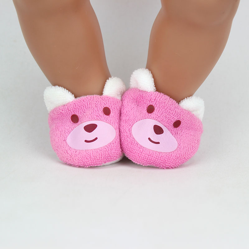 11style Choose Soft Shoes Fit For Baby 43cm Doll Clothes Children Best  Birthday Gift
