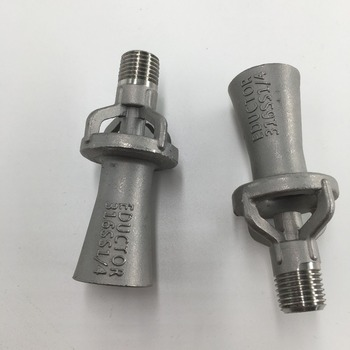 (8PCS/Lot) Free Shipping Mixed flow eductor nozzle,tank mixing fluid eductors mixing jet eductor nozzle,venturi eductor nozzle