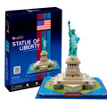 USA Famous Scenic Spot Model of the United States Statue of Liberty 3D Puzzle Wood Model DIY Puzzle Toys