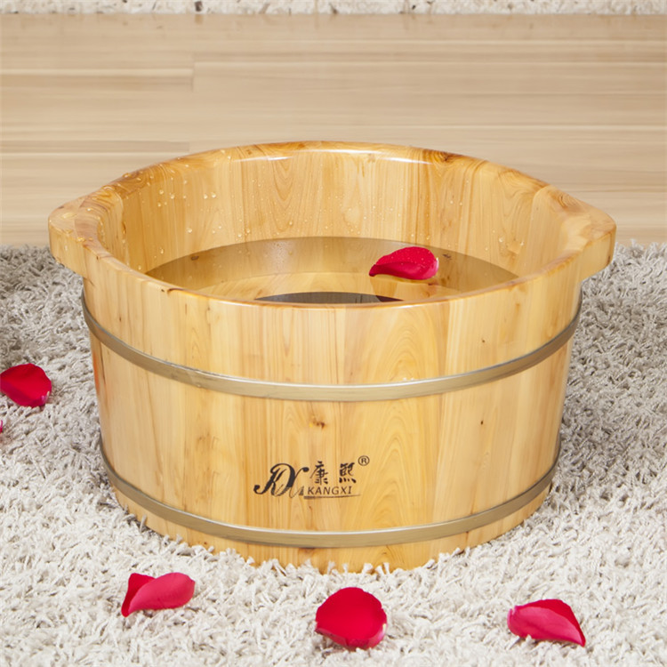 Cedar wood feet barrel footbath tub feet basin foot bath barrel ...