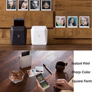 Image 3 - Fujifilm Instax حصة SP 3 طابعة محمولة فيلم لحظة صور مربع مربع الطابعات أسود/أبيض + 20/40 ورقة Instax مربع الأفلام
