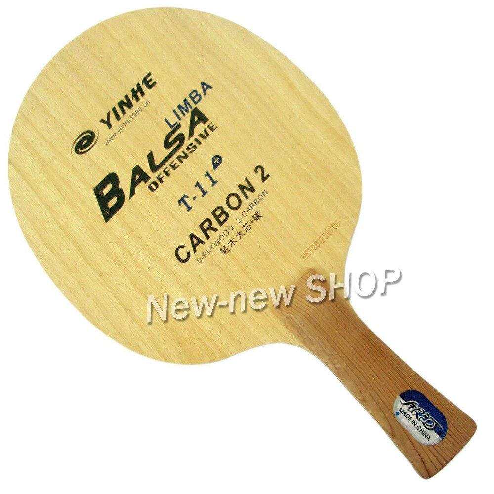 Yinhe T-11 + T 11 + T11 + pala de ping pong de mesa YINHE Qing Pips largo de goma/OX Topsheet Galaxy tenis de mesa de goma de ping pong esponja