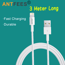 3 Meters Long Cable Charger for Apple iPhone Xs Max XR SE 5s