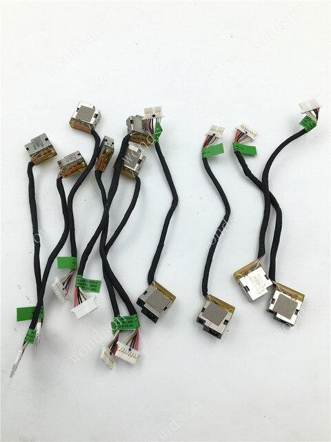 Câble Jack Original pour HP 15 A M16 P 15 AC M6 P113DX cc 799736 F57 799736 S57 799736 Y57 799736 T57