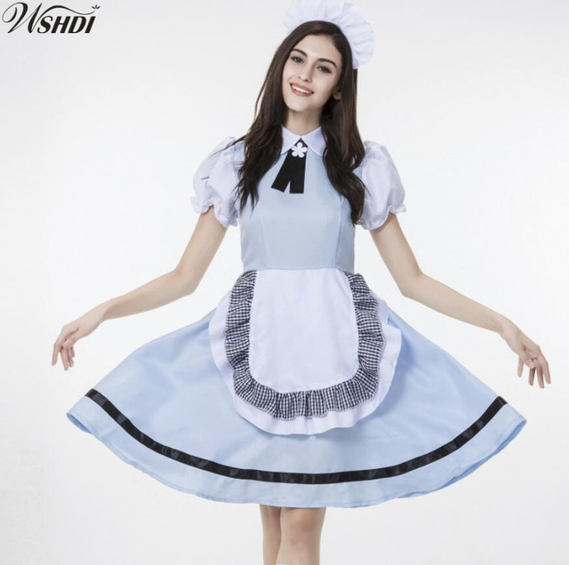 3005e04a00d US $11.93 25% OFF| Sexy Cute Oktoberfest Beer Maid Suit Wench German  Bavarian Heidi Fancy Dresses Halloween Cospaly France Costume-in Holidays  ...