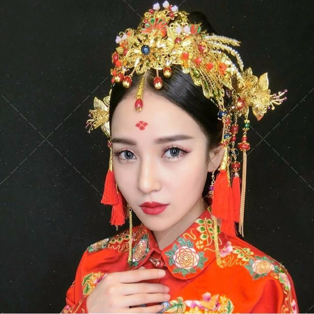 Traditional chinese hair accessories for Oriental accessories