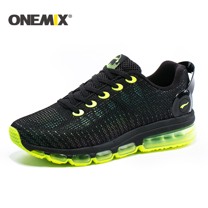 Onemix new running shoes men sneakers lightweight colorful reflective mesh vamp for outdoor sports jogging walking