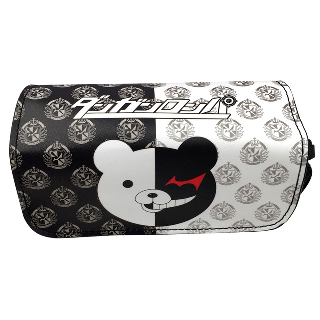 bae8da578e3f US $9.46 5% OFF|Anime Danganronpa monokuma Pencil Case Stationery Bag  Cosmetic Bags-in Cosmetic Bags & Cases from Luggage & Bags on  Aliexpress.com | ...