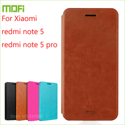 MOFI For Xiaomi redmi note 5 Case Flip Case For Xiaomi Redmi note 5 pro/redmi note 5 Luxury Leather Stand Cover
