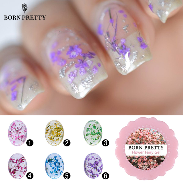 Born pretty 5g flower fairy gel floral soak off uv gel 6 colors born pretty 5g flower fairy gel floral soak off uv gel 6 colors manicure nail art prinsesfo Image collections